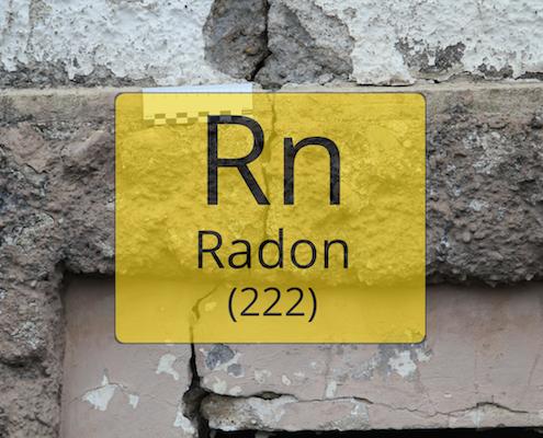 Radongaskonzentrationen in Gebäuden